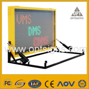 Optraffic OEM Road Traffic LED Signs Truck Mounted Vms pictures & photos