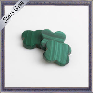 Fashion Natural Fancy Flower Shape Malachite for Jewellery pictures & photos