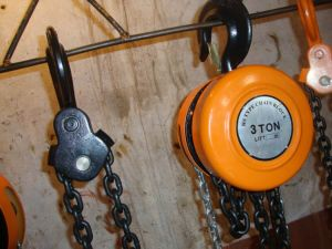 Durable Hsz Hand Chain Hoist pictures & photos