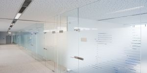 Aluminum Profile Office Partition / Aluminum Glass Partition pictures & photos
