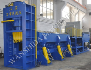 China Scrap&Recycling Metal Shear Baler for Steel Factory