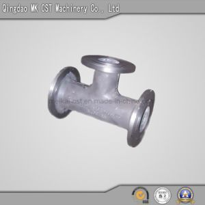 Iron Casting Parts Pipe Fittings with Three Directions pictures & photos
