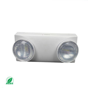 2*2W LED ABS Fire Two Spots Emergency Light pictures & photos