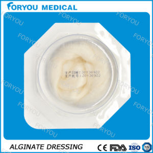 "AG Silver Calcium Alginate Wound Dressing, 2"" X 2"" pictures & photos"