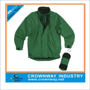 Kids Waterproof Packaway Chinook Jacket with Concealed Hood pictures & photos