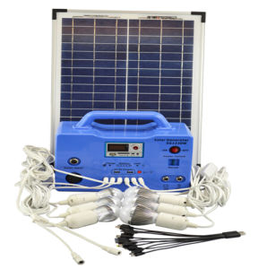 30W Panel Home Use Solar Power Generator pictures & photos