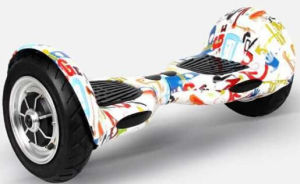 2015 Most Popualr 10inch Self-Balance Electric Skateboard Scooter