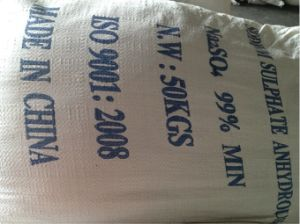 Sodium Sulphate Anhydrous / Ssa / pH9-11 pictures & photos