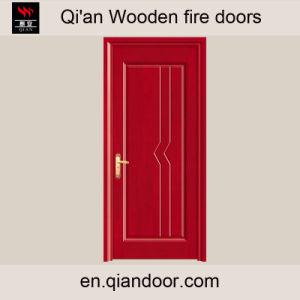 Fraxinus Mandshurica Veneer Wooden Fireproof Door pictures & photos