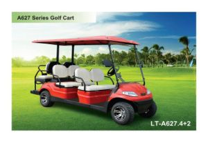 Folded Seats Battery 6 Person Go Kart pictures & photos