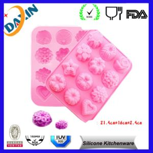 2015 Newest Beard Shaped Fondant Silicone Cake Mold pictures & photos
