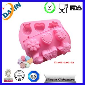 Fation Design Silicone Cake Molds Food Grade Silicone Cupcake Moulds pictures & photos