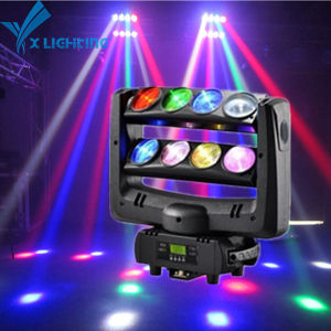 Best Price and High Qualit Disco LED Stage Moving Head Spider Light with 8 Head pictures & photos