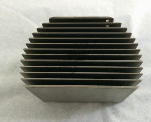 CNC Machinery&Turning Aluminum Parts with Plating pictures & photos