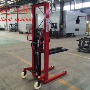 New Condition Hydraulic Hand Pallet Stacker pictures & photos