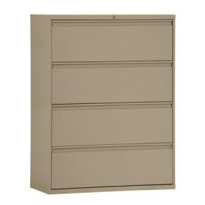 4 Drawer Metal Lateral File Storage Cabinets