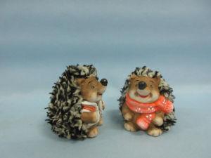 Hedgehog Shape Ceramic Crafts (LOE2531-C6.5) pictures & photos