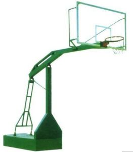 Hottest Manual Hydraulic Basketball Stand Equipment Basketball Hoop for Sale pictures & photos