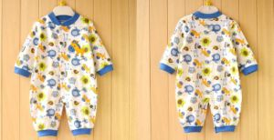 Customize Newbies Pure Soft Cotton Long Sleeve Romper Baby Clothes pictures & photos