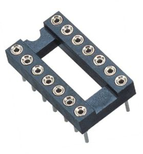 2.54mm H=3.0 15.24 S/T IC Female Base Row Spacing Hole pictures & photos