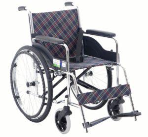 Chrome Classic Steel Wheelchair