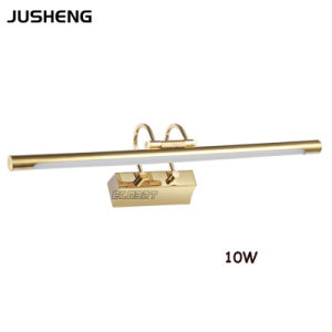 10W LED Golden Indoor Wall Lighting for Bathroom