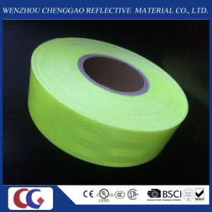 Fluorescent Green Pet Safety Reflective Tape /Material pictures & photos