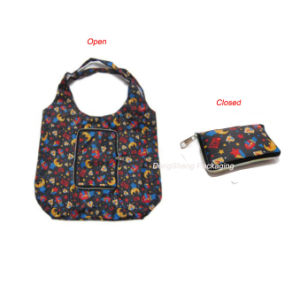 Hot Sale Nylon/Polyester Fabric Folding Shopper/Shopping Bag pictures & photos