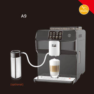 Black One Touch Latte Coffee Maker