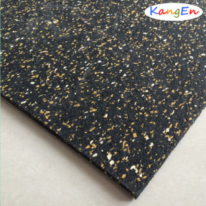 Impact Resistant SBR Rubber Sheet with Fabric Insertion pictures & photos