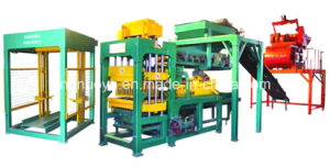 Nyqt6-15fully Automatic Porous Brick Making Machine
