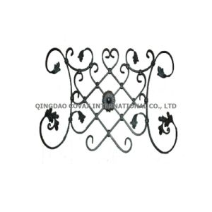 Forged Flower Panel 11044 Wrought Iron Rosette pictures & photos