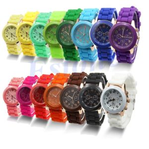 Wholesale Fashion Silicone Band Jelly Watch with Cheaper Price pictures & photos