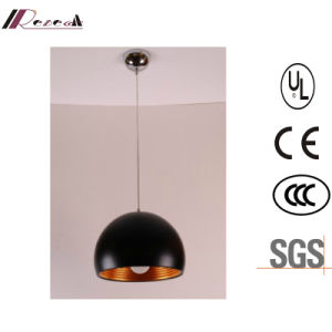 Modern Black Resin Pendant Light for Hotel Project pictures & photos