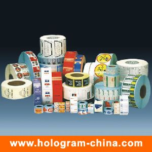 Custom Printed Roll Bottle Food Sticky Label pictures & photos