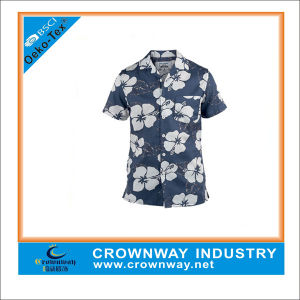 Men′s Print Fashion Cotton Shirt with High Quality (CW-SS-19) pictures & photos
