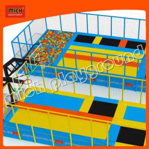 China cheap kids indoor rectangular trampoline bed park for Indoor trampoline park design manufacturing