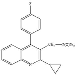2-Cyclopropyl-3-[ (diphenylphosphinyl) Methyl]-4- (4-fluorophenyl) Quinoline, CAS Number: 146578-99-6 pictures & photos