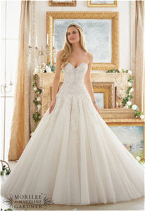 2016 New Hot-Selling Bridal A-Line Wedding Dress, Customized pictures & photos