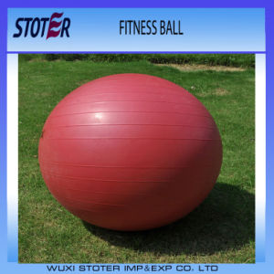 Factory Anti Burst Custom Color 95cm Ecofriendly PVC Exercise Stability Ball with Pump pictures & photos