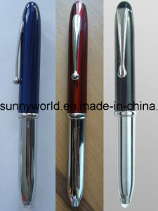 Multifunction Metal  Penlight with LED Light (SW-PL30) pictures & photos