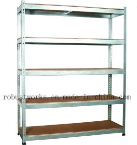 Heavy Duty Galvanized Steel Shelving Racking (15050-300) pictures & photos