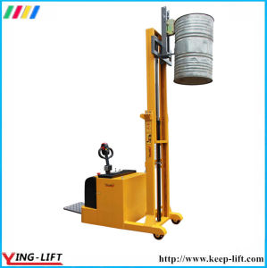 Steel&Plastic Full Electric Drum Stacker with Eagle-Grip Yl420b pictures & photos