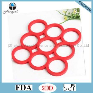 Heat Insulation Silicone Table Mat Placemat Sm26