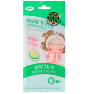 Cucumber Water Moist Mask Wipes pictures & photos