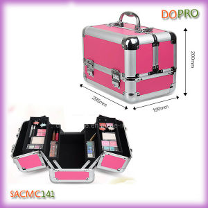 Easy Carryon Aluminum Makeup Train Cases for Travel (SACMC141)