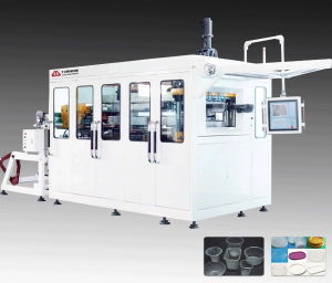 High Speed Plastic Containers Thermoforming Machine for Cups pictures & photos