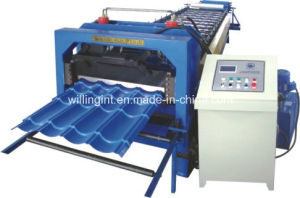 Auto Galvanized Tile Roll Forming Machine pictures & photos