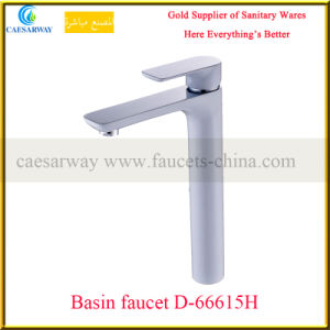 High Brass Basin Faucet&Mixer with White Painted pictures & photos