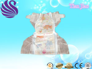 Cheap Price High Absorption Breathable Film Baby Diaper pictures & photos
